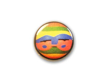 1 Inch Pinback Button Original - Lonely Planet