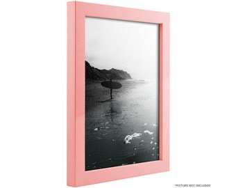"""Craig Frames, 16x20 Inch Modern Light Pink Picture Frame, Confetti, .875"""" Wide (1406451620)"""
