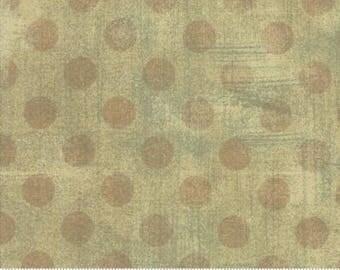 Grunge Hits the Spot - Dots in Tan - Basic Grey for Moda - 30149-18 - 1/2 yard