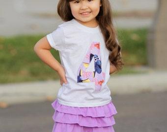 Finding Dory Birthday Shirt, Birthday Shirt, Girls Finding Dory, Finding Dory, Girls Finding Dory Birthday Shirt, Disney Party, Fish Party