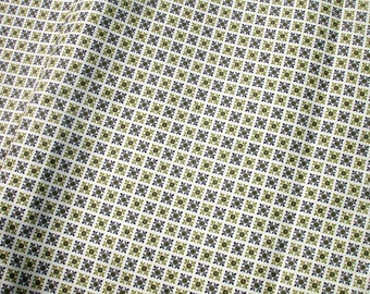 Green Design Fabric by the Yard - Avon Converting Co - 1 Yard