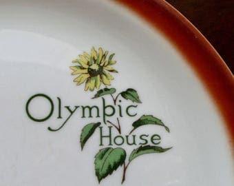 Olympic House Plate Sunflower American Restaurantware Distributor Albert Pick