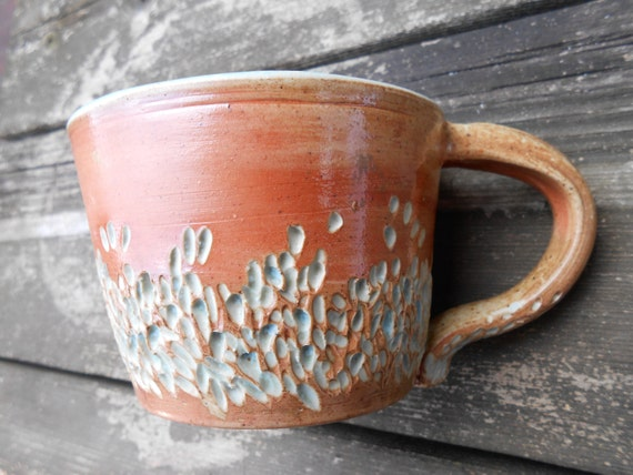 Seaside Sunrise Wood Fired Ceramic Mug