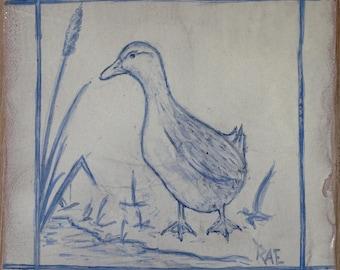 Duck design tiles