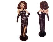 Ava Gardner The Killers Hand Painted 2D Art Figurine
