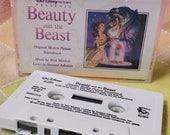 Disney's Beauty And The Beast 1991 Original Soundtrack Cassette Tape