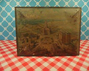 Buffalo NY Tin Box - Hall Baking Company - Happy Home Products