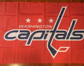 Washington Capitals 3 X 5 Feet Flag Banner NHL Hockey Fan Decor