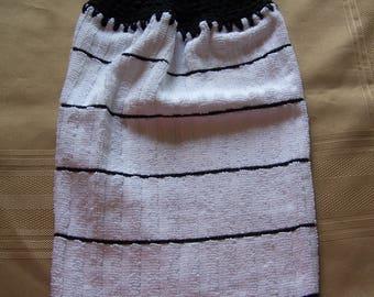 Hanging Dish Towel, Hanging Kitchen Towel, Crochet Top Towel, Housewarming Gift, Home Decor