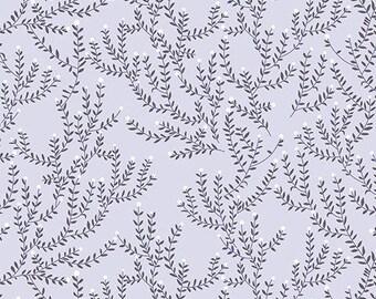 Ferns in Grey - Catnap - Lizzy House - Andover Fabrics - 1 Yard