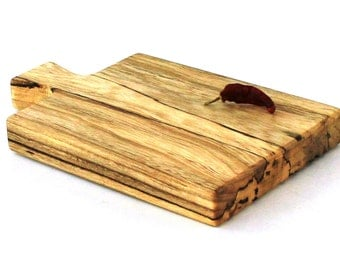 "Wine and Cheese Board - Silver Maple - Ready to Ship - 10""x6""x1"""