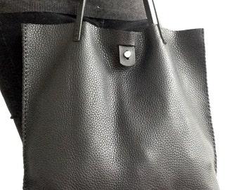 Large tote shoulder bag | Etsy