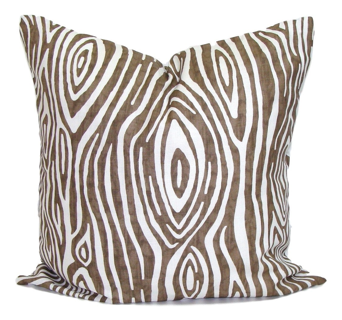 BROWN PILLOWS Sale 16x16 Inch.Pillow Cover Decorative Pillow