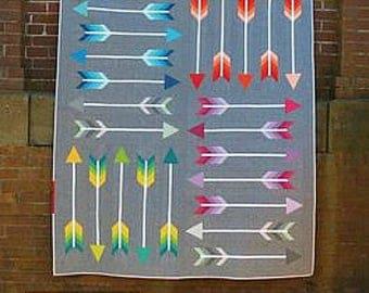 Pointy Quilt Pattern - Modern Quilt - Quilt Pattern - Modern Quilt Pattern Elizabeth Hartman - Scrappy Arrows