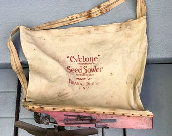 Eary 1900s Seed sower. Restored.works