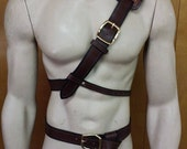 Leather Armor Twilight Princess Link belt and baldric