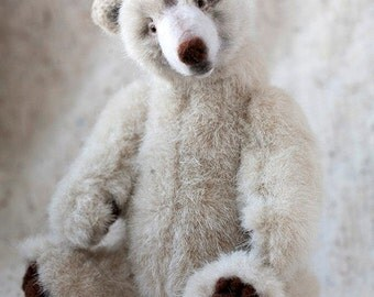 OOAK Polar Teddy Bear