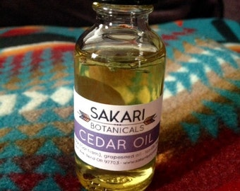 Organic Oregon Cedar Oil