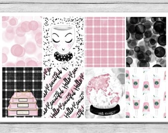 Hello Beautiful Full Box Planner Stickers