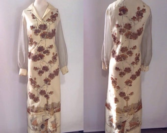 1960's Alfred Shaheen Dress