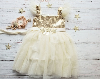 Twinkle Twinkle Little Star Birthday Outfit, Birthday Dress, Gold and Pink Birthday Outfit, Gold Gold Birthday Dress, First Birthday Dress