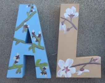 Almond Wooden Letters, Almond Farmer, Almond Decor, Almond Farmers, Almond Tree, Almond Tree Blossoms, Almond Tree Painting, Almond Blossoms