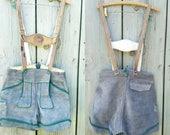 Authentic Leather Lederhosen shorts, Sz. 28, Suede, Octoberfest, German costume, child, women, boys, men..