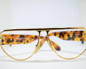 VonFurstenberg Tortoise & Gold Glasses