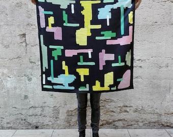 silk scarf 90x90
