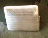 Vintage-sterling-silver-1920s-cigarette-case-box-tin-flapper-antique