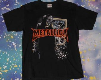 METALLICA AM I Who I Think I Am? Metal T-Shirt Size M
