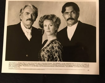 Movie photo, Old Gringo, Gregory Peck, Jane Fonda and Jimmy Smits
