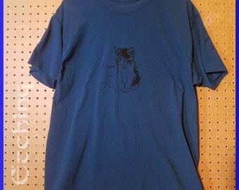 Customer Service Cat shirt