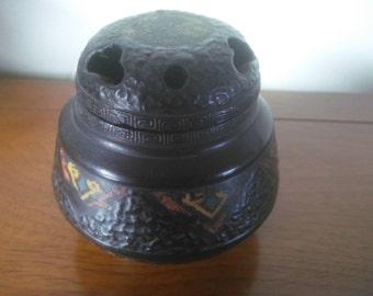 Very Old Incense Burner - Incense Burner - Vintage Incense Burner - Nippon Incense Burner