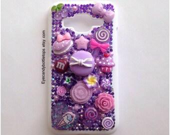 Purple Kawaii Samsung Galaxy Prevail LTE Case