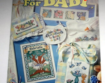 Just For Baby-Cross Stitch Leisure Arts Leaflet # 2961 never used all pages in great condition