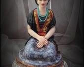 CUSTOM OOAK Art Doll for Kathy (kjdavis62)