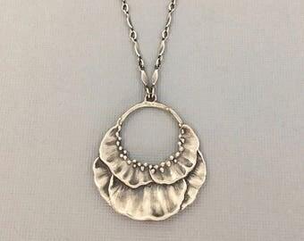botanical necklace | boho jewelry | flower necklace | petal necklace | garden jewelry | Bloom Necklace