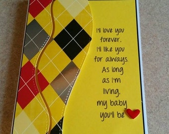 Card for son or daughter