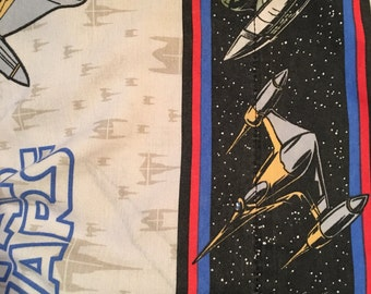 Star Wars Flat and Fitted Sheet Set