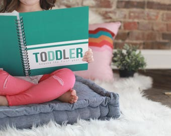 Toddler Book - 12M-5YRS - Turquoise