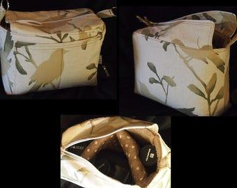 DSLR Camera Bag \ Dslr Inbag \ Camera bag insert \  Canon Nikon \ Water Resistant \ Backpack Dslr Insert \ Zipper Top \ Camera case \ 10x6x8
