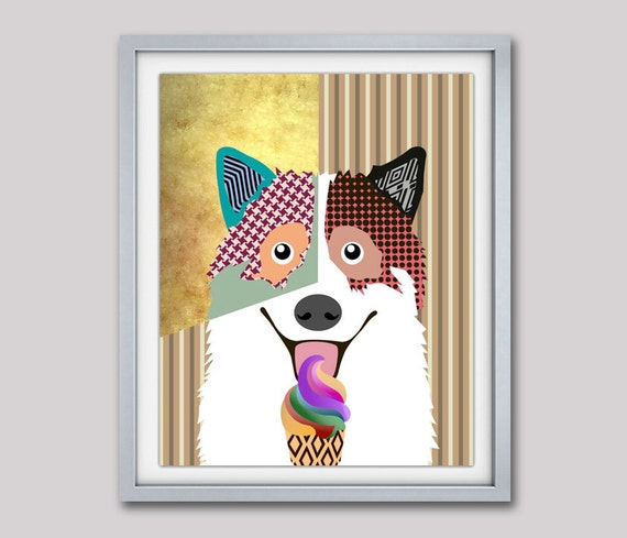 Thai Bangkaew, TBD, Thai Bangkaew Dog, Bangkaew Poster, Bangkaew Print, Bangkaew Decor, Dog Pop Art