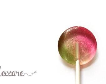 New - Watermelon Pistachio // 20 Lollipops // Spring Wedding Favor // Pink Favors // Watermelon Lollipops // Fall Wedding // Summer Wedding
