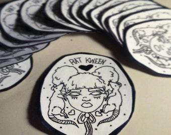 Rat Kween stickers