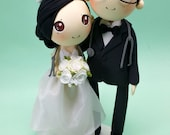 Wedding Cake topper Hospital Affairs wedding clay doll, wedding of doctor and nurse clay miniature, pills tablets and syringe clay figurine