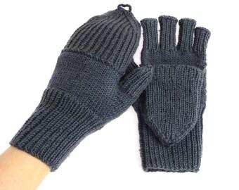 Snow Mittens Winter Mittens Red Mittens  Mittens  Wool Mittens Merino Gloves Winter Gloves Warm Mitts