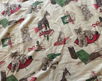 50s Novelty Print Fabric Curtain Panels