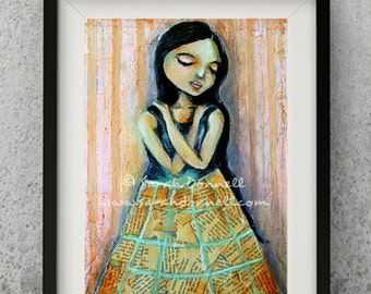 ETSY Art Prints - Contemporary Modern Art - Folk Art
