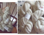 2 lbs Falkland Top with .5 lb oatmeal local long wool roving - for Lesya